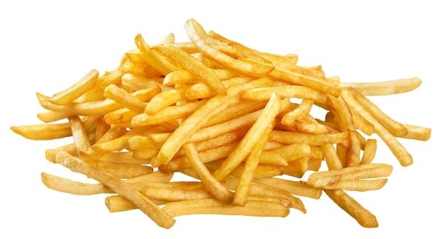 Haufen pommes frites