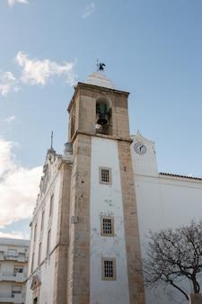 Hauptkirche der stadt olhao