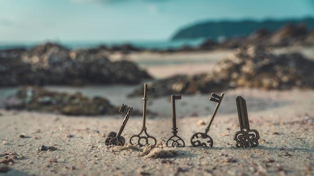Hauptschlüssel auf seestein