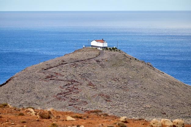 Haus befindet sich auf ponta de sao lourenco in madeira, portugal
