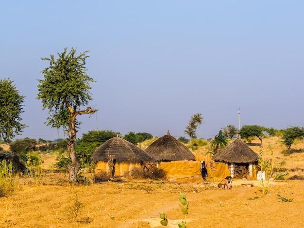 Haus des landwirts in jaisalmer, indien