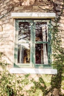 Haus hinterhof straße farbe zurück