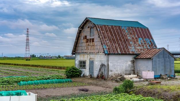 Haus mit natürlicher ansicht