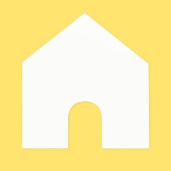 Haus papierhandwerk diy element
