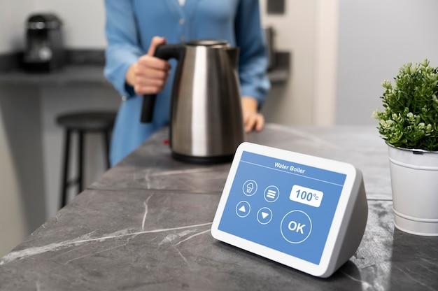 Hausautomation mit wasserkocher-gerät