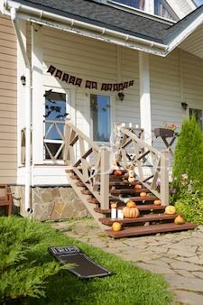 Hausdekorationen für halloween