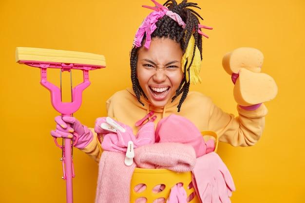 Hausfrau zu hause