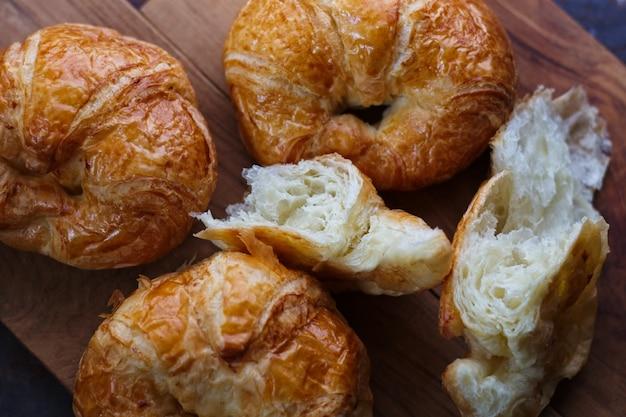 Hausgemachte croissants