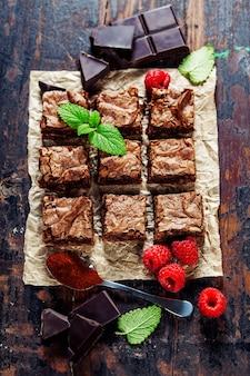 Hausgemachter brownie