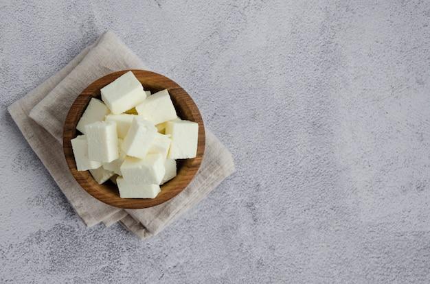 Hausgemachter indischer paneer käse