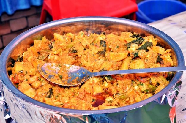 Hausgemachtes indisches essen: