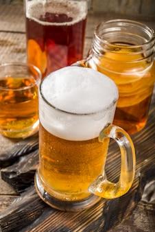 Hausgemachtes kombucha bier