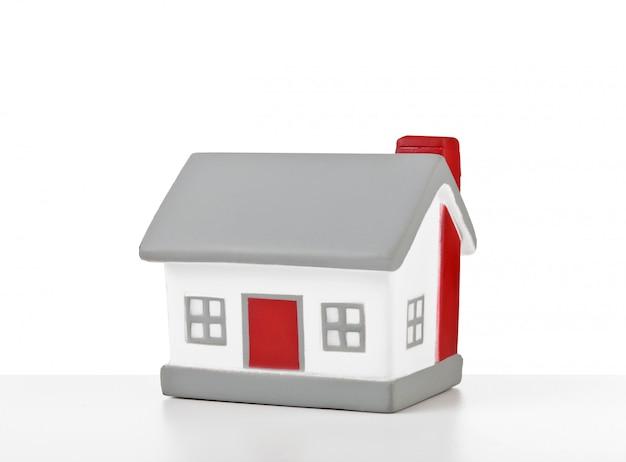 Hausmodell aus kunststoff