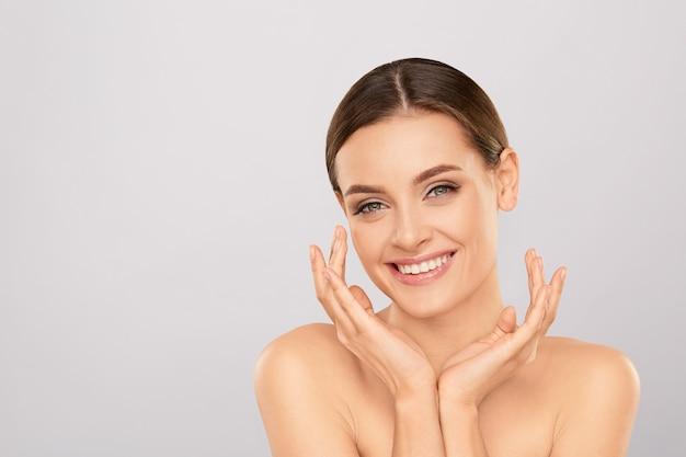 Hautpflege-konzept.