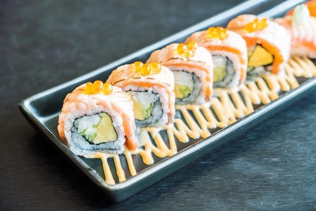 Hdr reis sashimi wasabi nigiri
