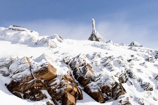 Heiligtum der virgen de las nieves in der sierra nevada