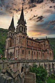 Heiligtum von covadonga spanien