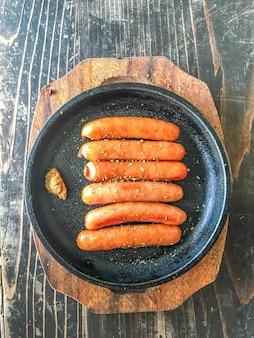 Heiße grillwurst