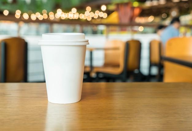 Heiße kaffeetasse