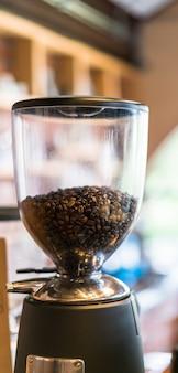 Heißer weißer aromatischer becher koffein