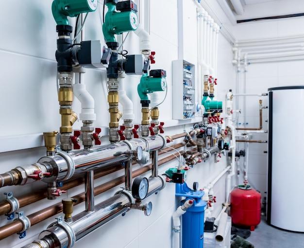 Heizraumausstattung für moderne heizungsanlagen.