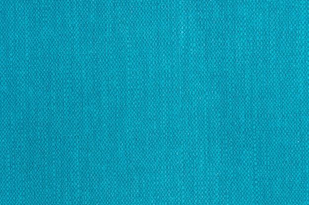 Hellblau oder teal farbe, hessischer sackleinen-leinwand gewebter textur-muster-hintergrund