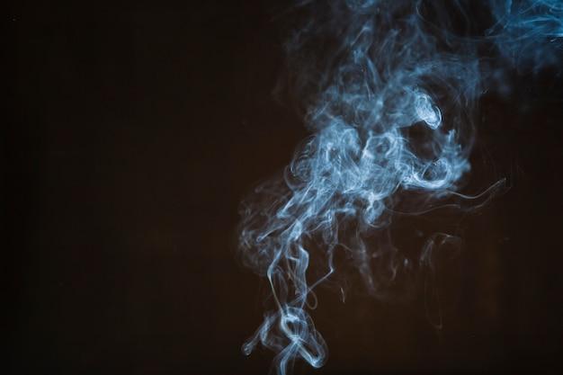 Hellblauer rauch
