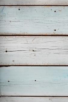 Hellblaues holz, textur des alten holztischs