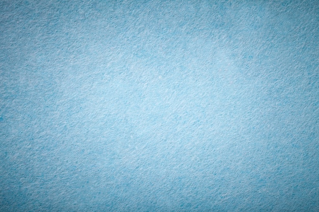 Hellblaues mattes veloursleder samtstruktur aus filz,