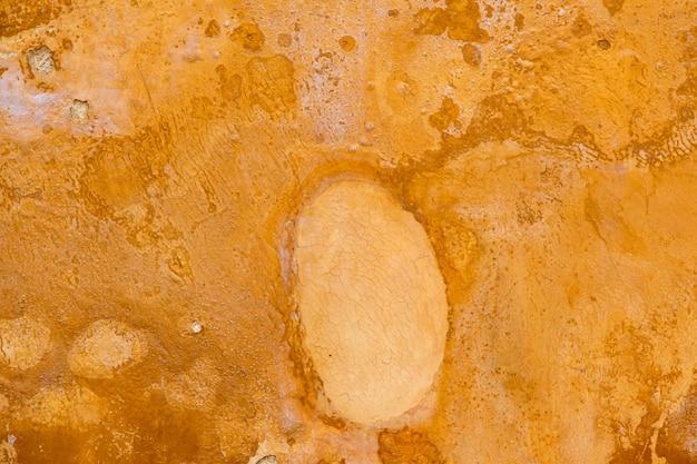 Hellbrauner zementfarbalter wandhintergrund.