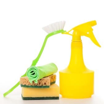Helle bunte reinigung eingestellt auf a