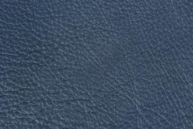 Helle dunkelblaue lederstruktur. hochauflösendes foto.