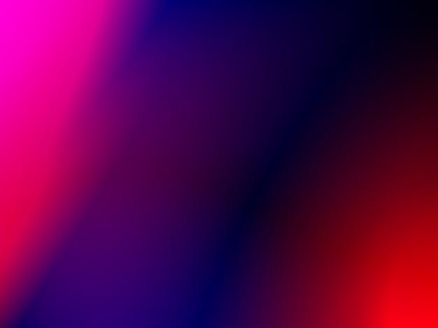 Helle dunkelblaue rosa unschärfegradientenfarbe angeordnet im hintergrundtapetenhintergrund premium-foto