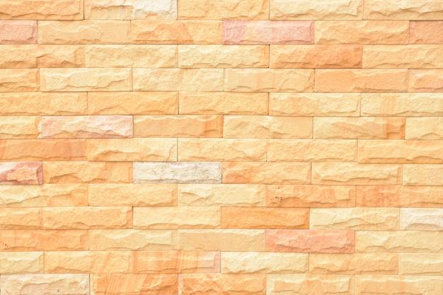 Helle orange wand-ziegelstein-steinbeschaffenheit
