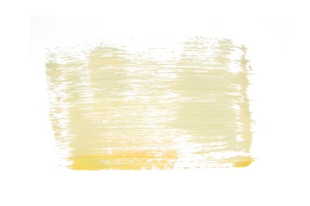 Heller farbenausstrich auf weiß