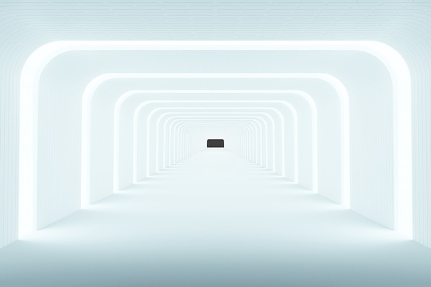 Heller hintergrund abstrakter hintergrund, modernes design, 3d-rendering