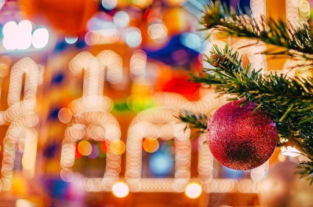 Heller hintergrund für weihnachten und neujahr.