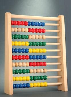 Heller holzspielzeug-abakus,
