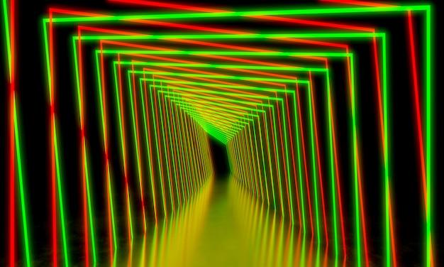Heller neonhintergrund