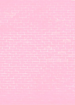 Heller rosa ziegelsteinhintergrund