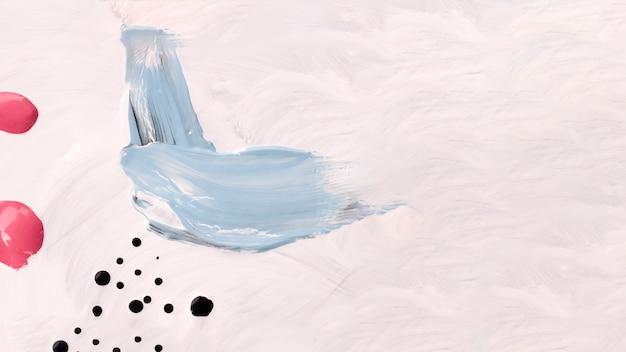 Hellfarbige malerei mit kopienraum