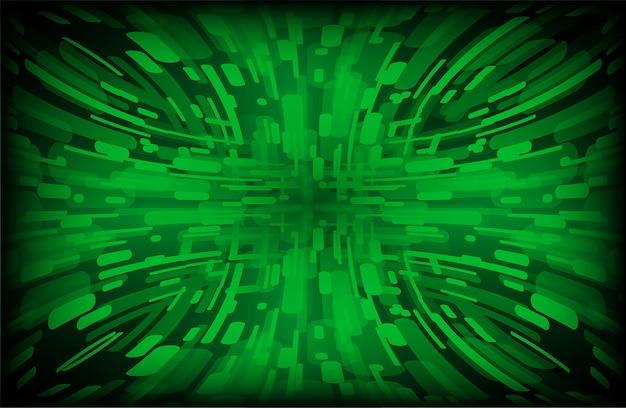 Hellgrüner zoom-auszug