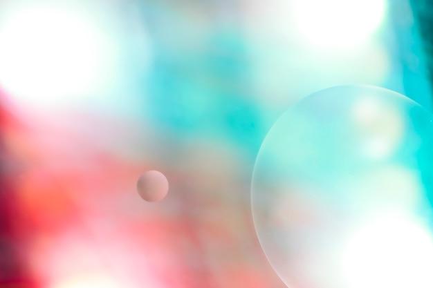 Hellkalte und warme abstrakte farben