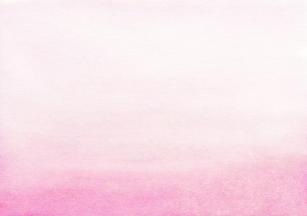 Hellrosa farbverlauf-hintergrundbeschaffenheit des aquarells