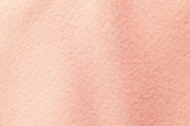 Hellrosa und korallenfarben des abstrakten kunsthintergrunds. aquarellmalerei auf leinwand mit rosenflecken und farbverlauf. fragment der grafik auf papier mit muster. textur hintergrund.