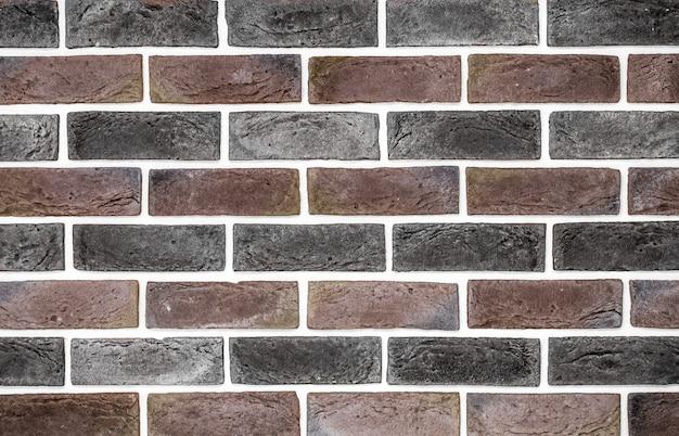 Hellrote backsteinmauer
