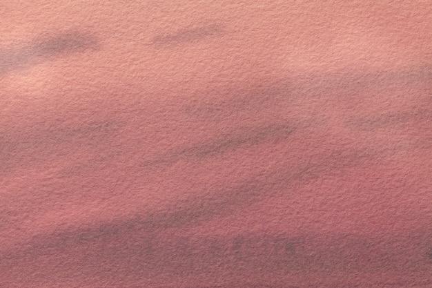 Hellrote und rosa farben des hintergrundes der abstrakten kunst. aquarell auf leinwand.