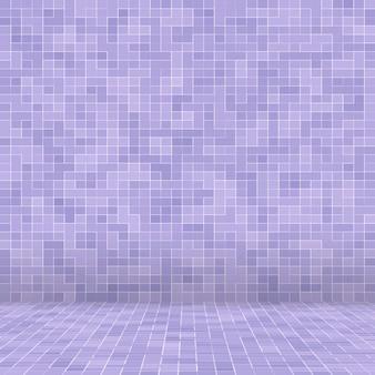 Hellviolettes quadratisches mosaik für textur.