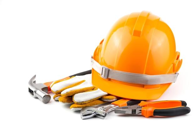 Helm sicherheit / handwerkzeuge.