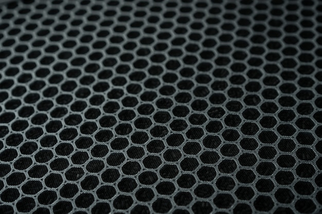 Hepa-kohlenstoff-luftreinigerfilter nahaufnahme, ersatzfilter für luftreiniger.